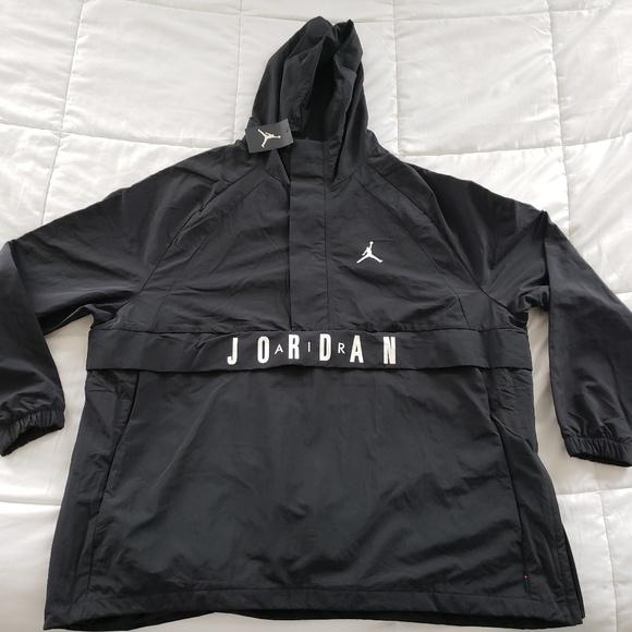 6afb0293a841 Air Jordan Wings Anorak Pullover OG Retro Hoodie